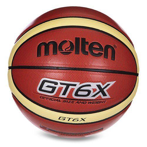 Мяч баскетбольный BGT6X Molten №6 Оранжевый (57483029)