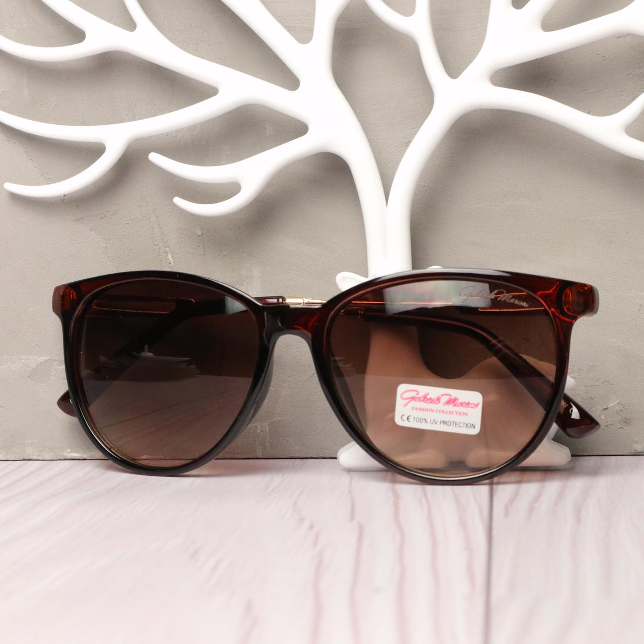 Очки солнцезащитные унисекс коричневые, очки поляризованые Коричневый, Коричневый