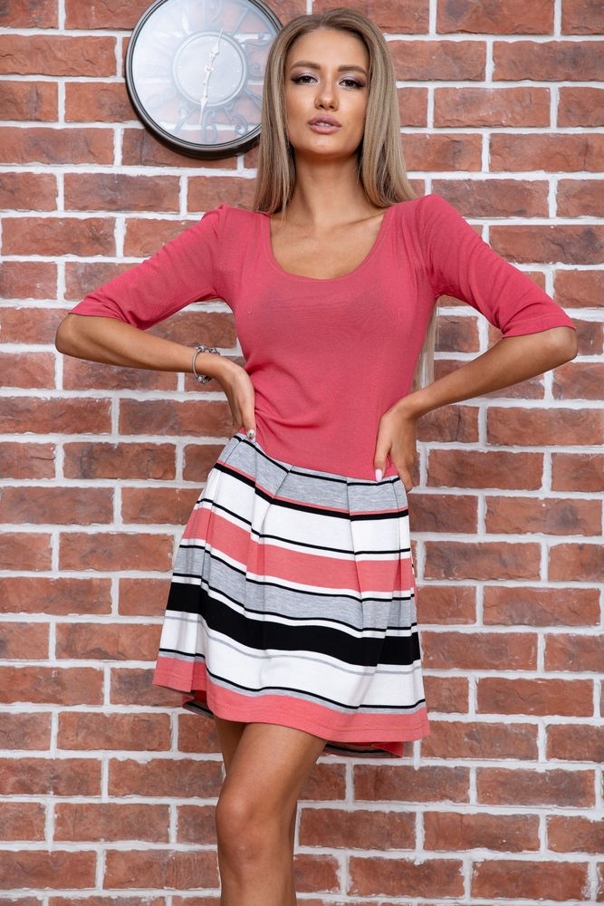 Ager / Платье AGER XS Коралловый 167R073