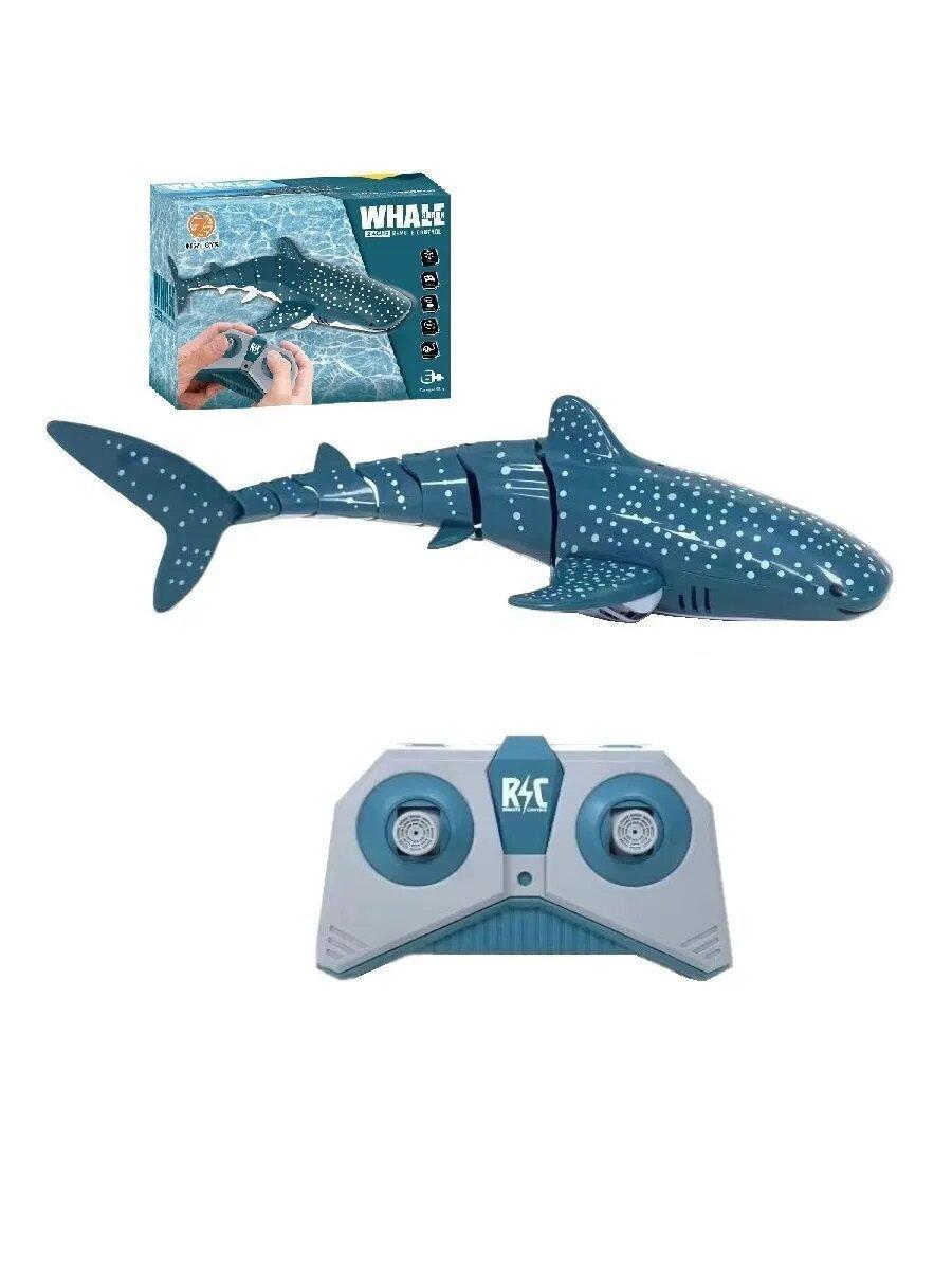 AToys / Радиоуправляемая игрушка Реалистичная Китовая Акула на радиоуправлении, реалистичная игрушка акула на пульте