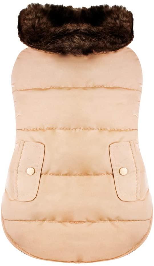 Куртка утепленная для собак Croci BUTTERSCOTCH 30 см (длина по спине)