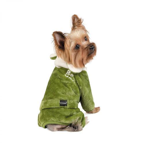 Дождевик для собак JALF оливка XS-2 Pet Fashion BGL-PF-1337