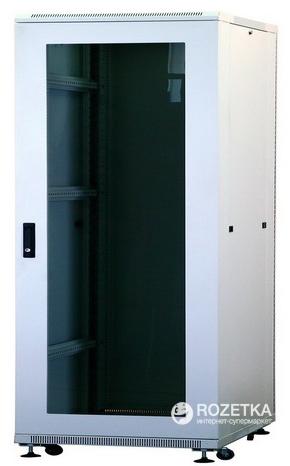 Шафа серверна монтажна підлогова Ухл-Маш ШС-18U/6.8C 18U (5050596000-S069)