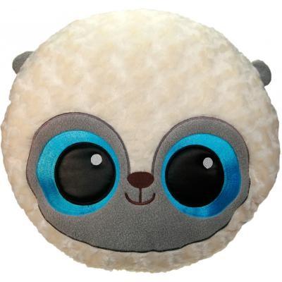 Мягкая детская игрушка Aurora Лемур голубой Шарик 41 см (110832A)
