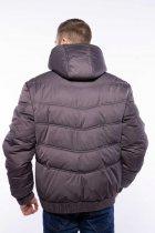 Куртка мужская с капюшоном Time of Style 157P3106 46 Хаки - изображение 5