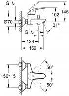 Набор GROHE Mega Bundle 39117MB0 (39117000+111048+123242K+40407001) - изображение 14