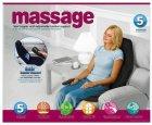 Массажная накидка на кресло Massage Seat Topper 5 вибрационная с пультом управления для дома и автомобиля - изображение 2