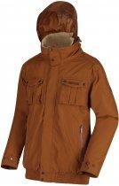 Куртка Regatta Ralston RMP278-2GS XXL Коричневая (5057538607312) - изображение 4