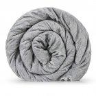 Утяжеленное (тяжелое) детское сенсорное одеяло Gravity 110x170см 6кг Серое - изображение 2