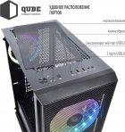 Корпус QUBE Neptune 600W APFC Black (QB07N_FC6U3) - зображення 6