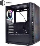Корпус QUBE Neptune 600W APFC Black (QB07N_FC6U3) - зображення 10