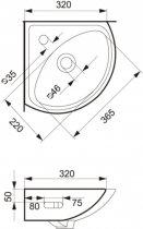 Раковина CERSANIT SIGMA - зображення 4
