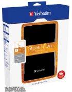 """Жесткий диск Verbatim Store n Go 1TB 53023 2.5"""" USB 3.0 External Blister Black - изображение 3"""