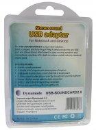 Адаптер Dynamode 3D Sound (5.1) USB-SoundCard 2.0 Gray - изображение 4