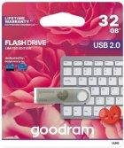 Goodram UUN2 Unity Valentine 32GB USB 2.0 Silver (UUN2-0320S0R11-V) - изображение 2