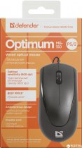 Мышь Defender Optimum MB-150 PS/2 Black (52150) - изображение 4