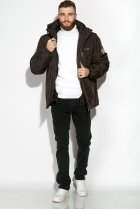 Куртка Time of Style 120PCHB9371 XL Темно-коричневый - изображение 2