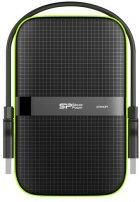 Жорсткий диск Silicon Power Armor A60 1TB SP010TBPHDA60S3K 2.5 USB 3.0 External Black - зображення 1