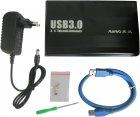 """Зовнішня кишеня Maiwo для HDD 3.5"""" SATA USB 3.0 Black (K3502-U3S) - зображення 6"""