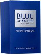 Туалетная вода для мужчин Antonio Banderas Blue Seduction 100 мл (8411061636268) - изображение 2