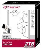 Жорсткий диск Transcend StoreJet 25A3 2TB TS2TSJ25A3W 2.5 USB 3.0 External White - зображення 3