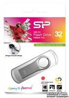 Флеш пам'ять USB Silicon Power Firma F80 32GB Silver (SP032GBUF2F80V1S) - зображення 3