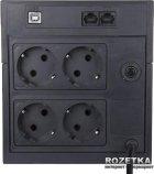 Джерело безперебійного живлення Powercom RPT-1025AP Schuko - зображення 2