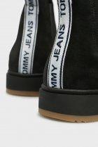 Чоловічі чорні замшеві челсі Tommy Hilfiger 44 EM0EM00185 - зображення 5