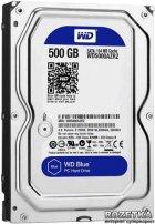 Жорсткий диск Western Digital Blue 500GB 5400rpm 64МB WD5000AZRZ 3.5 SATA III - зображення 1