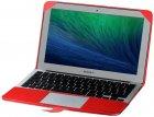 "Чохол-накладка для ноутбука Promate MacLine-Air 11"" MacBook Air 11"" Red (macline-air11.red) - зображення 1"