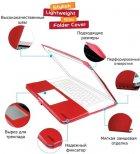 "Чохол-накладка для ноутбука Promate MacLine-Air 11"" MacBook Air 11"" Red (macline-air11.red) - зображення 8"