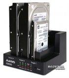"""Док-станція Maiwo для 3xHDD 2.5""""/3.5"""" SATA/SSD USB 3.0 (K3093) - зображення 3"""