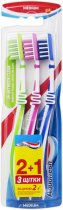 Зубная щетка Aquafresh In-between Clean Medium *3 (3830029292998) - изображение 1