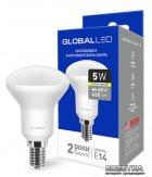 Світлодіодна лампа Global R50 5W 3000К 220V E14 (1-GBL-153) - зображення 1