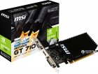MSI PCI-Ex GeForce GT 710 2048 MB DDR3 (64bit) (954/1600) (DVI, HDMI, VGA) (GT 710 2GD3H LP) - зображення 4