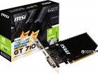 MSI PCI-Ex GeForce GT 710 2048 MB DDR3 (64bit) (954/1600) (DVI, HDMI, VGA) (GT 710 2GD3H LP) - зображення 4