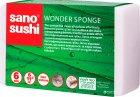 Чудо-губка кухонная Sano Sushi Wonder для мытья без моющих средств 6 шт. (7290005426193) - изображение 1