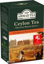 Чай листовой Ahmad Tea Оранж Пеко Голд 100 г (054881005845) - изображение 1
