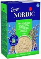 Хлопья овсяные NordiC с овсяными отрубями 600 г (6416597838461) - изображение 1