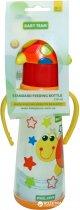 Бутылочка для кормления с силиконовой соской Baby Team с ручками 0+ 250 мл Черепашка (1414_Черепашка) - изображение 2