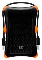 "Внешний карман Silicon Power Armor A30 для HDD 2.5"" USB 3.0 Black (SP000HSPHDA30S3K) - изображение 1"