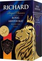 Чай Richard черный байховый листовой Royal Aristocrat 80 г (4823063702317) - изображение 1