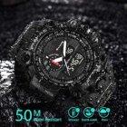 Чоловічі годинники SANDA PANARS BLACK (4405) - зображення 7