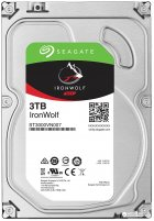 Жорсткий диск Seagate IronWolf HDD 3TB 5900rpm 64MB ST3000VN007 3.5 SATAIII - зображення 1