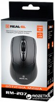 Миша Real-El RM-207 USB Black - зображення 4