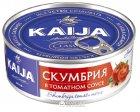 Скумбрия в томатном соусе Kaija 240 г (4751007731348) - изображение 1