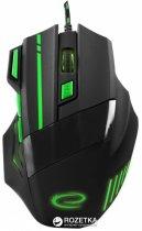 Мышь Esperanza MX201 Wolf USB Black/Green (EGM201G) - изображение 1