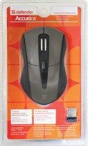 Мышь Defender Accura MM-965 Wireless Black/Brown (52968) - изображение 4