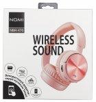 Навушники Nomi NBH-470 Rose Рожеві - изображение 4