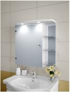 Шкаф зеркальный Garnitur.plus в ванную с LED подсветкой 25SZ - изображение 1